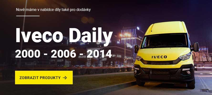 Novinka: Náhradní díly <br>na Iveco Daily