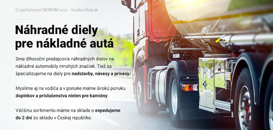 Náhradné diely pre nákladné autá