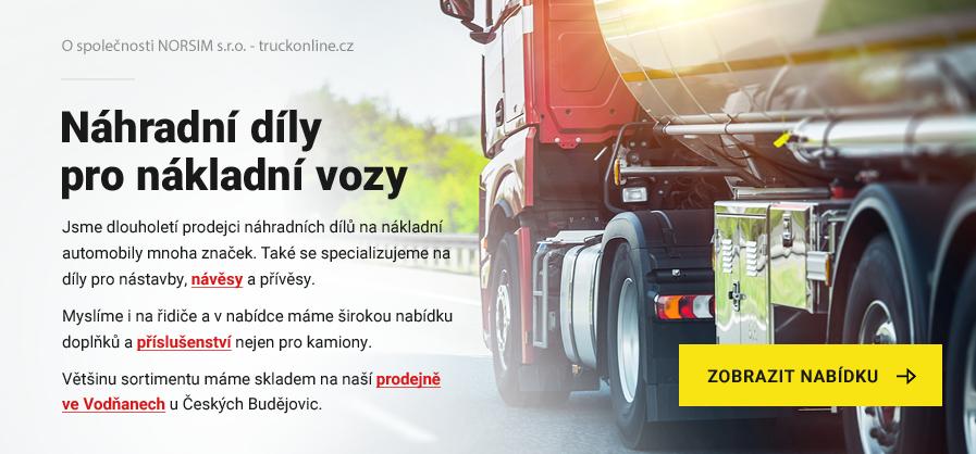 Náhradní díly pro nákladní vozy