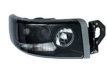 Hlavný svetlomet Renault Premium od 2005 čierny, pravý