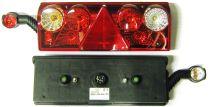 Koncový světlomet Europoint II, s parohem, levý
