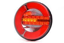Koncový svetlomet LED guľatý WAS W153