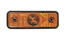 Pozičné svetlo LED Flat-Point, oranžové