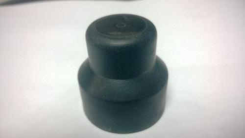 Krytka kolového šroubu 32 mm, černá