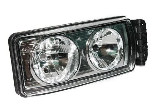 Hlavný svetlomet Iveco Stralis / Eurocargo od 2007 s el. motorkom, pravý
