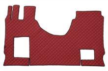 Kožené koberce MB Actros MP4 a MP5 automat, sklopná sedačka, červené