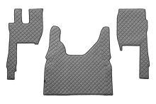 Kožené koberce FORD F-MAX, šedé