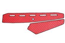 Koženka na palubní desku Volvo FH4, červená