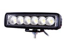 Světlomet LED 6x3W, bodový