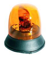 Maják pevný oranžový 12 / 24v 160mm