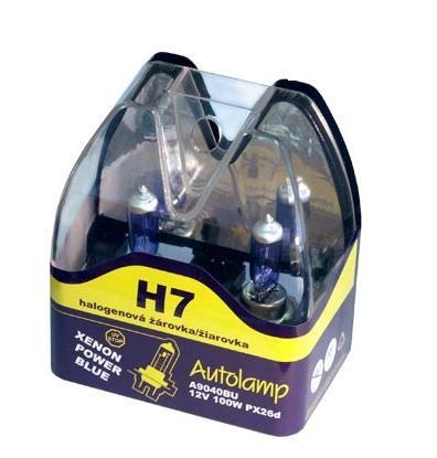Krabička AUTOLAMP H7 12V 100W PX26d 2ks