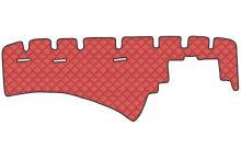Koženka na palubní desku Scania R Streamline, červená