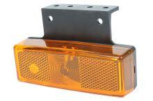 Poziční světlo s držákem oranžové žárovkové