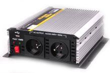 Měnič  24V/230V AC 1000W trvale