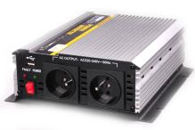 Menič 24V / 230V AC 1000W trvalo