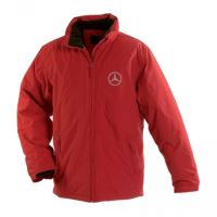 Zimná bunda MERCEDES, červená