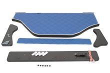Polička stredová DAF XF105, LED, béžová koženka