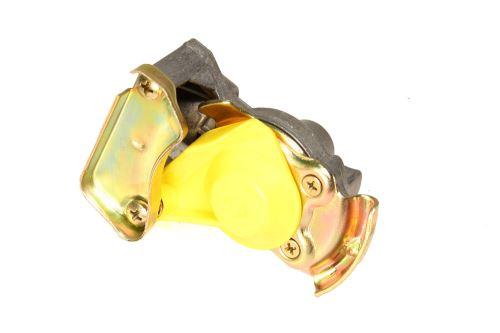 Vzduchová hlavice M22x1,5 žlutá s pružnou vložkou