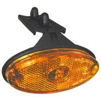 Poziční světlo LED Flatpoint II s držákem + 1,5m kabel