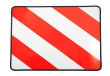 Tabule nadrozměr 40x30, červená/bílá, pravá