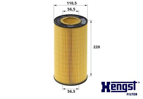 Olejový filtr DAF