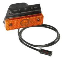 Poziční světlo oranž. s držákem 90° 4W