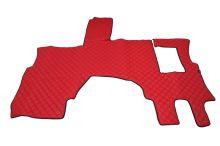 Kožené koberce MB Actros MP4 Solo Star, červené