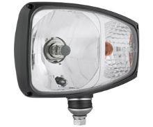 Přídavný světlomet DEUTSCH H4 + blikač, levý