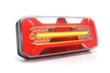 Koncový světlomet sdružený LED WAS W184 s trojúhelníkem, levý