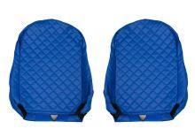 Autopoťahy MB Actros MP4 - koženkové, modré