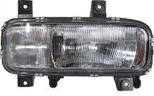 Hlavný svetlomet MB Atego do 2004 H4 + H1 vr. el. motorkom, pravý