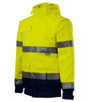 Reflexní bunda 4 v 1, žlutá