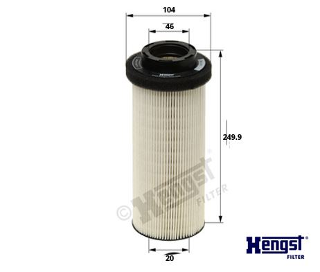 Palivový filtr DAF XF105/CF
