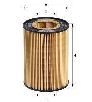 Olejový filtr MANN HU1270X
