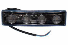 Pozičné svetlo LED Scania do slun. clony s káblom