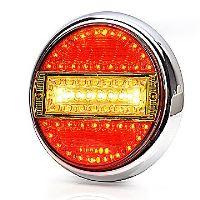 Koncový svetlomet LED guľatý WAS, W92/758