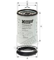 Palivový filter Hengst H392WK - separátor