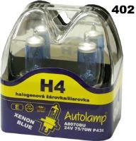 H4 24V 75/70W P43t, krabička 2ks