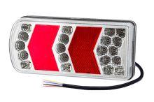 Sdružené koncové LED světlo Luminex s kabelem, levé