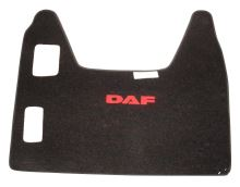 Stredový koberec DAF XF95, manual, červený