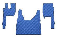 Kožené koberce FORD F-MAX, modré