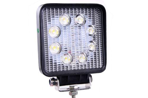 Pracovní světlomet, 8 LED