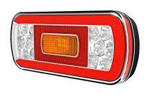 Zadní světlomet sdružený Fristom FT-130 LED s couvacím světlem, kabel