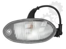 Poziční světlo do sluneční clony,  žárovkové, Iveco Eurocagro/ Stralis,  Pravé