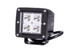 Pracovný svetlomet 4 LED 80x80mm