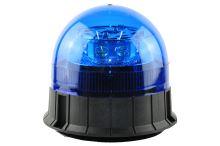 Modrý maják LED Luminex, pevné uchycení