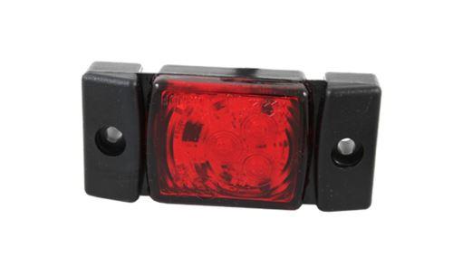 Poziční světlo 3x LED červené