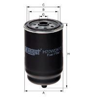 Palivový filtr HENGST H70WDK14