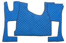 Kožené koberce MB Actros MP4 - úzká kabina, modré