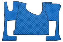 Kožené koberce MB Actros MP4 - úzka kabína, modré